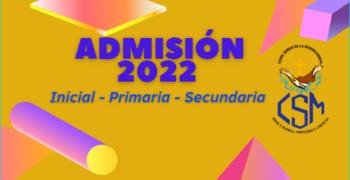 ADMISION 2022 I