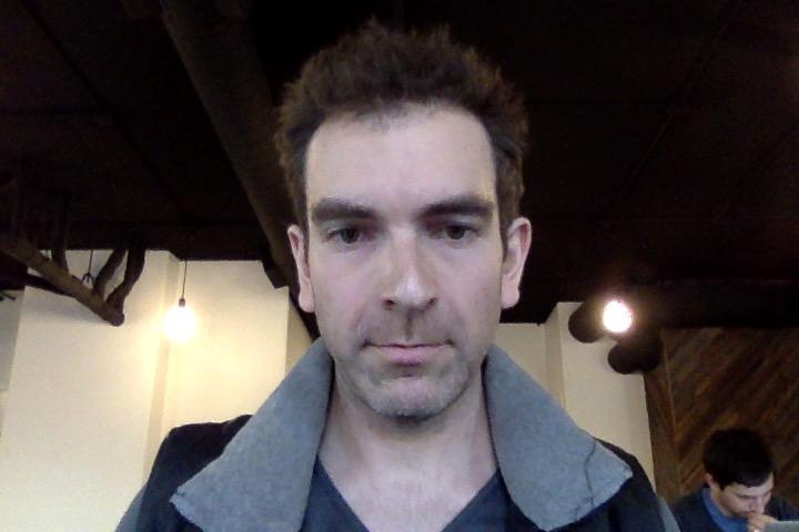 Alex Ness _ Leap Second SelfieTaken at Algorithm Coffee Co. in Berkeley CA