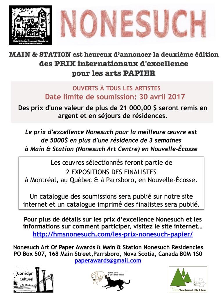 Affiche NAOPA  2017 _Soumissions