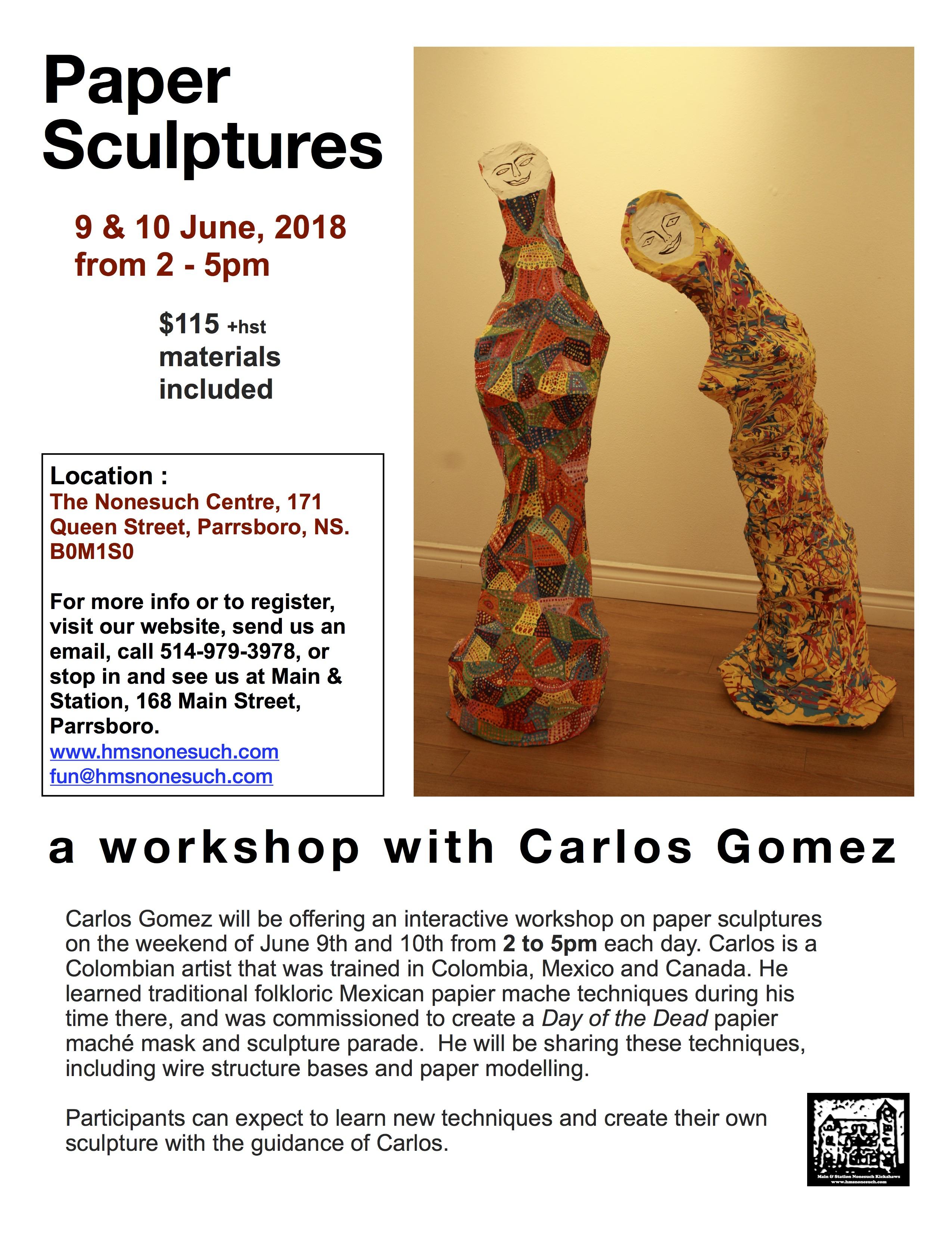 Gomez_ Paper Sculptures_2
