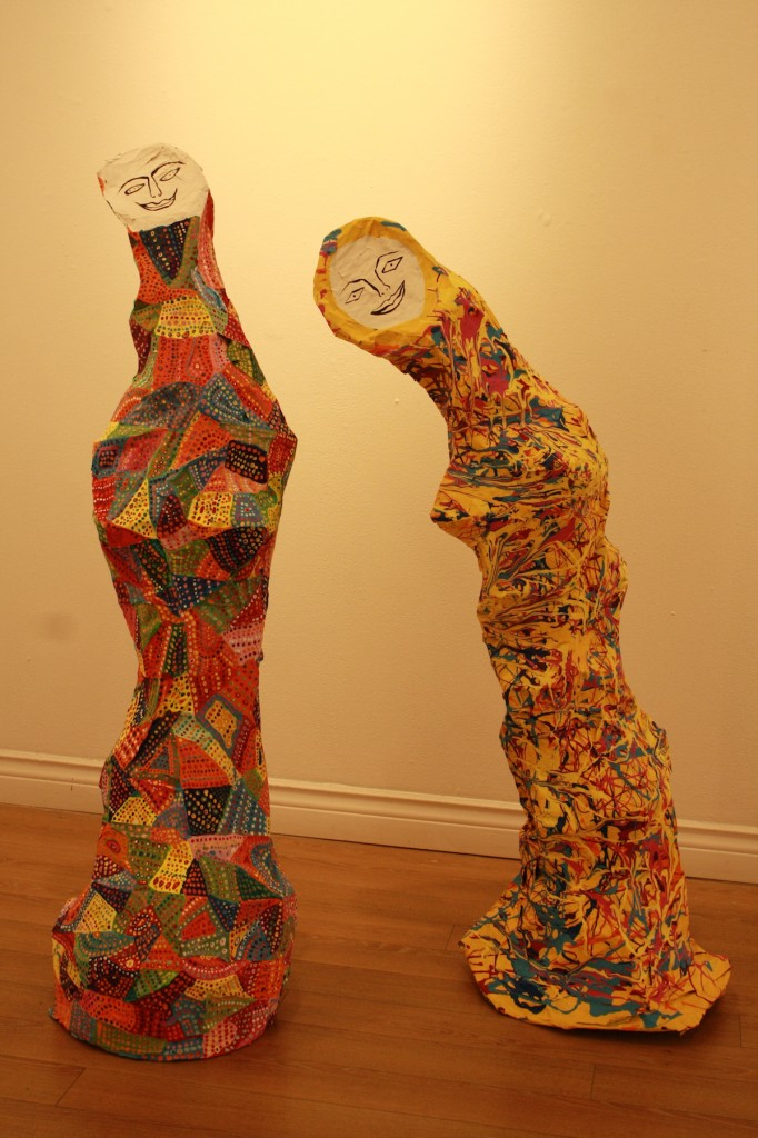 Gomez_paper sculptures