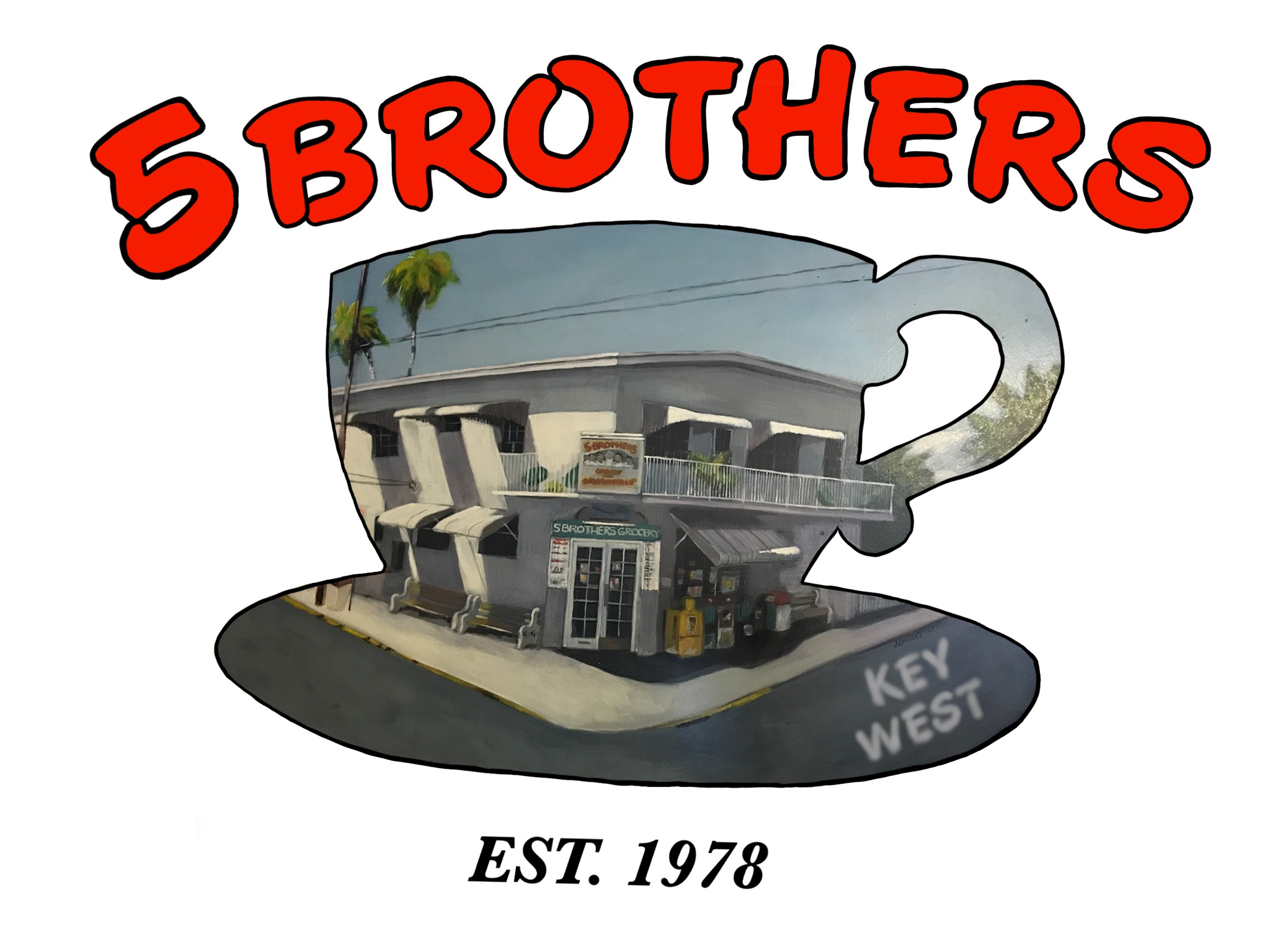 5 Brothers Key West | Cuban Coffee | Cuban Sandwich | Cuban Mix