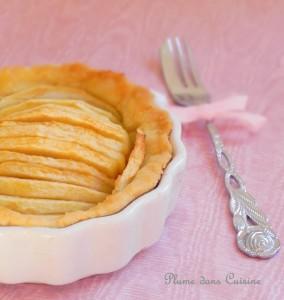 tarte-pommes-sans-sucre