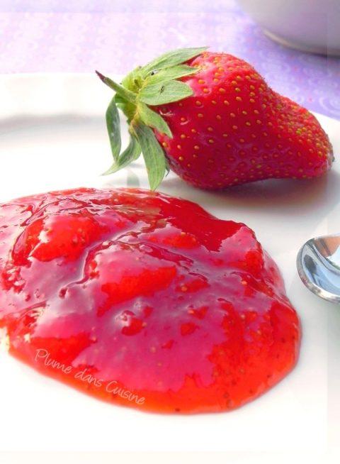 Confiture-de-fraises-rapide