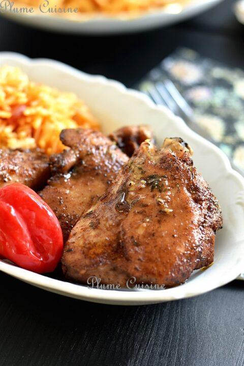 Poulet-jamaïcain-au-four-recette