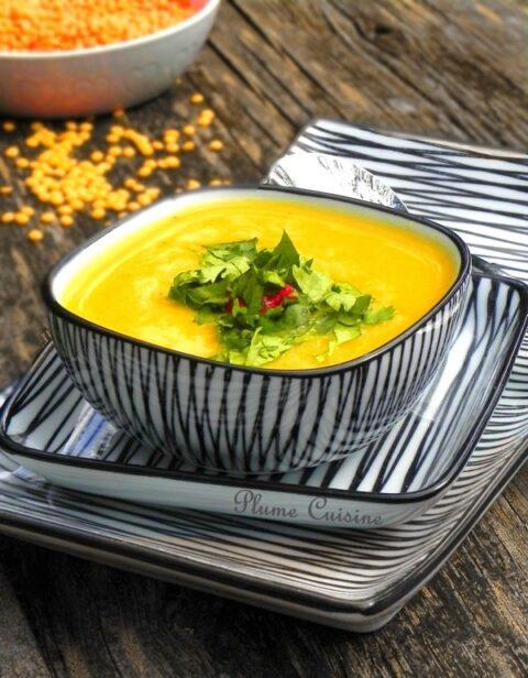 Soupe-lentilles-rouges-égyptienne