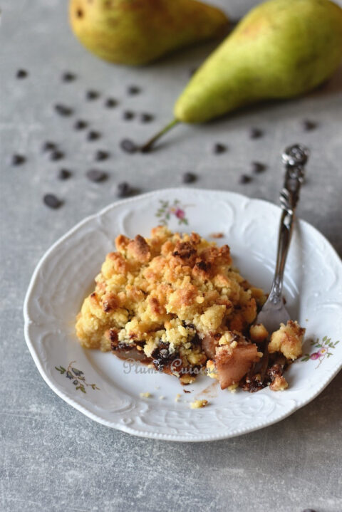 Crumble-poires-chocolat-recette