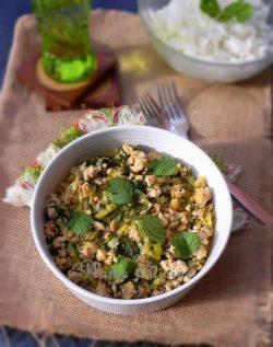 poulet-haché-thai