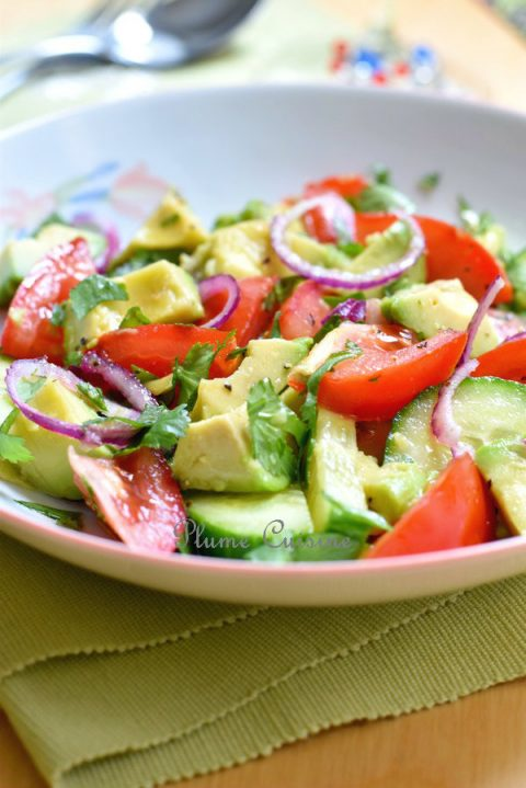Salade-tomate-avocat