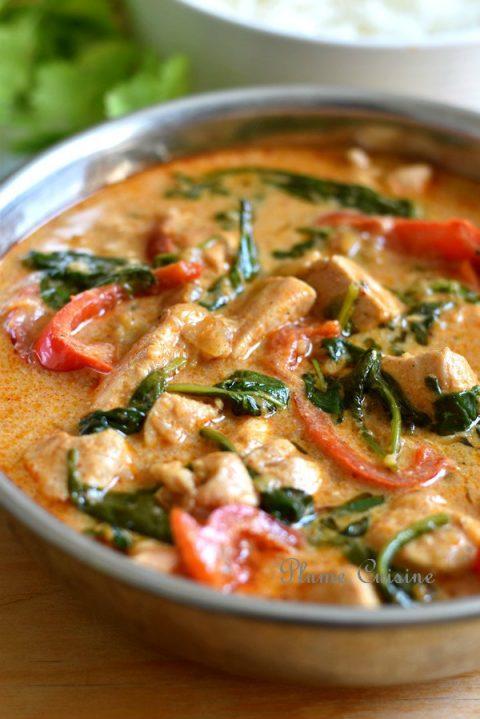 Poulet-curry-thaï