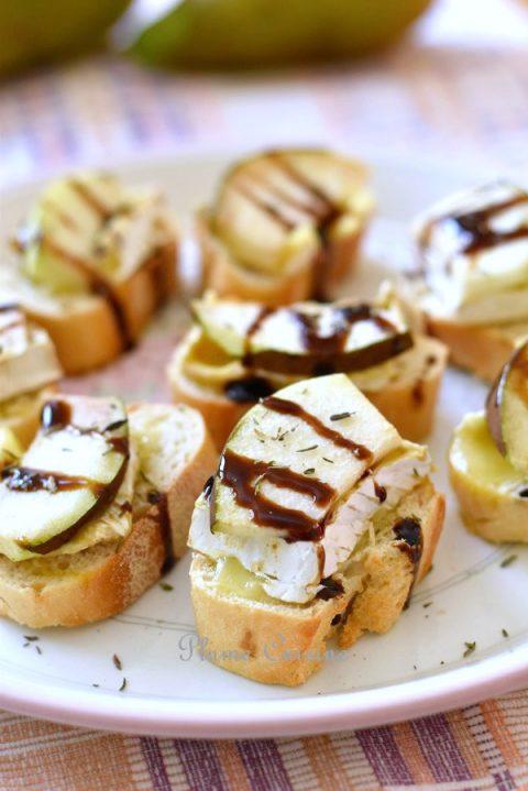 Tartines-poire-et-brie