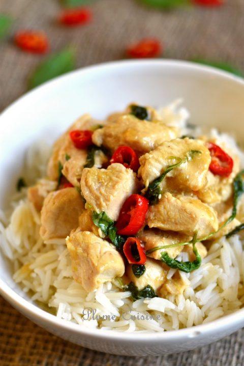 poulet-basilic-thaï-recette