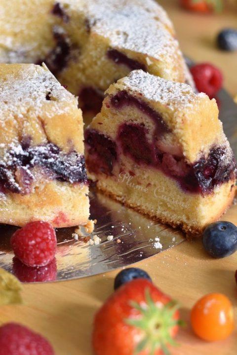Gâteau aux fruits moelleux