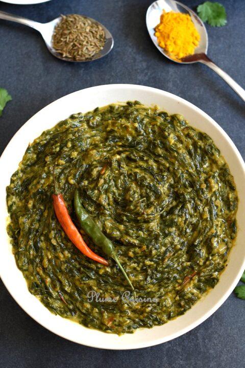 curry-épinards-ail-recette