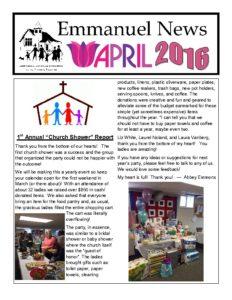 April 2016 Newsletter-thumbnail