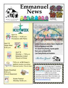 April 2019 Newsletter-thumbnail