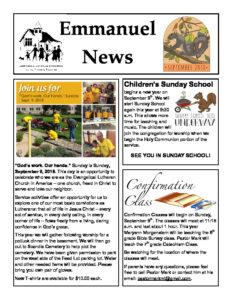 September 2018 Newsletter-thumbnail