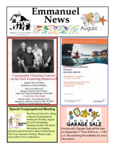 August 2019 Newsletter-thumbnail