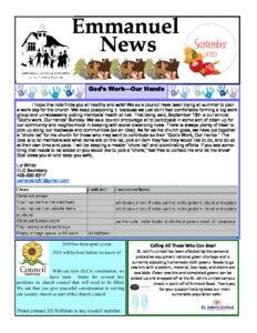 September 2020 Newsletter-thumbnail