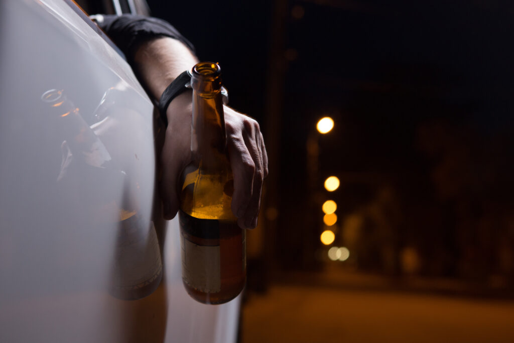 Person charged with combined alcohol and drug driving offence