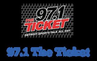 97.1 The Ticket logo