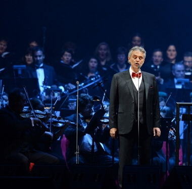 Percussion with Bocelli