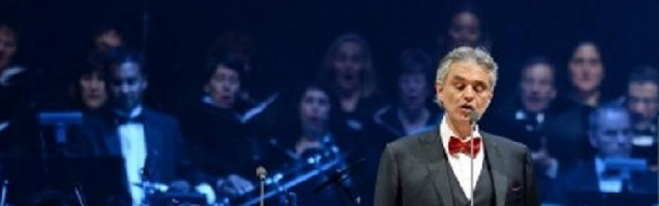 Performing with Andrea Bocelli @ BBT Center