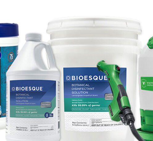 Bioesque's Botanical Disinfectant Solution supplier canada