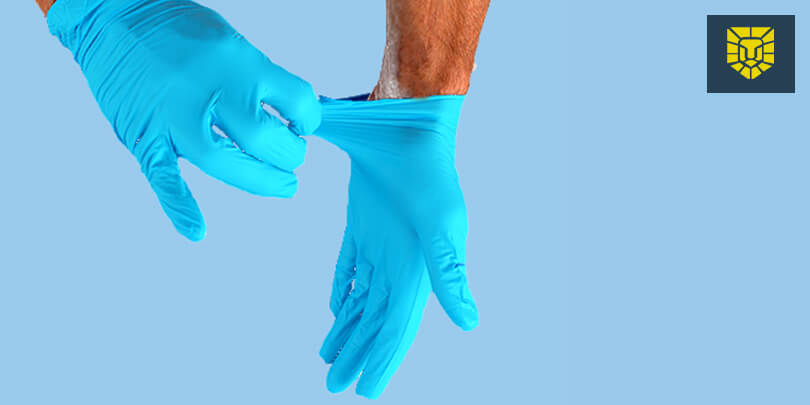 How to Remove Medical Gloves