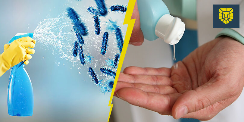 What Is The Difference Between Sanitizing And Disinfecting