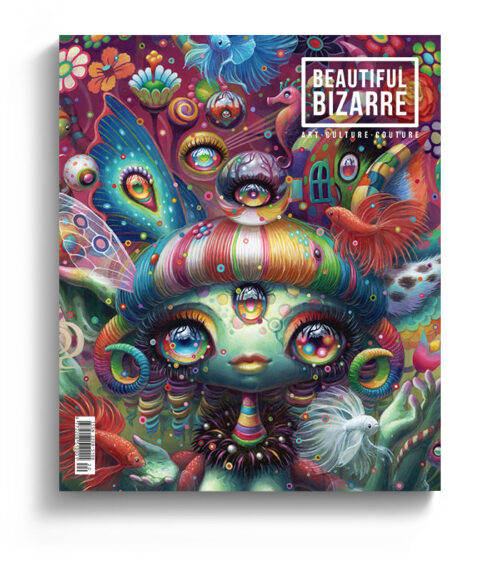 Beautiful Bizarre art magazine - issue 30 - Yoko d'Holbachie pop surrealism