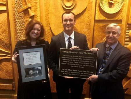 Kessi, Browne honored with Preservation Merit Award