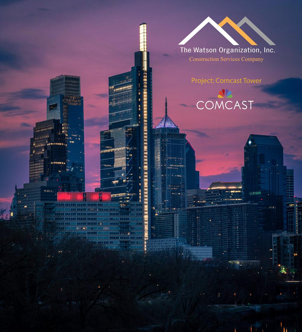 Comcast Tower in Philadelphia