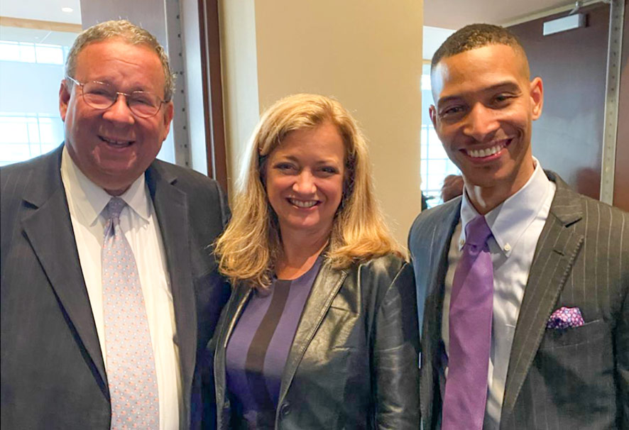 David L. Cohen Sr. Exec VP, and Karen Buncholz, Chief Diversity Officer / Comcast