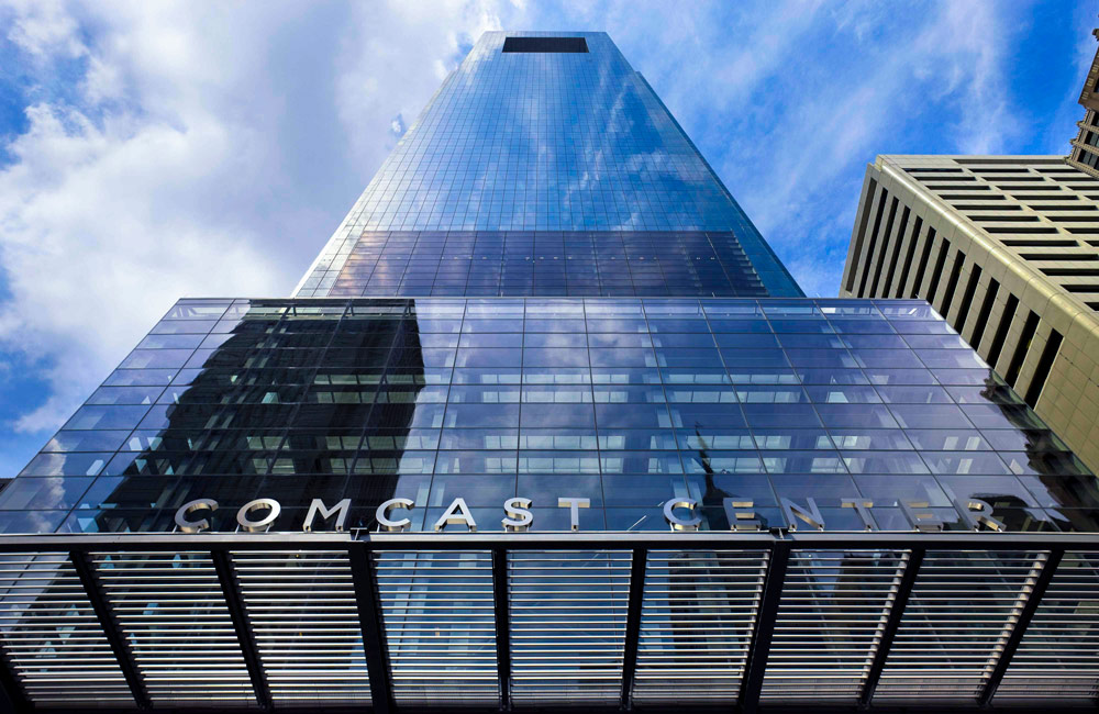 Comcast Tower in Philadelphia
