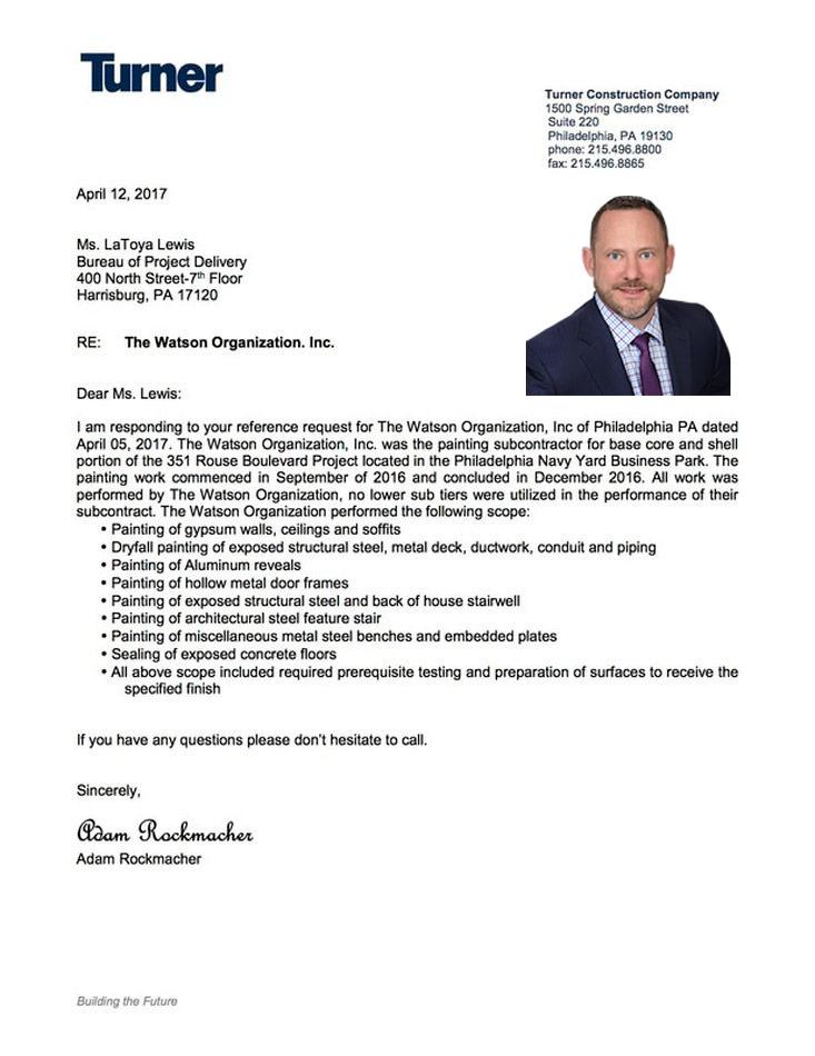 Turner Construction Company Testimonial