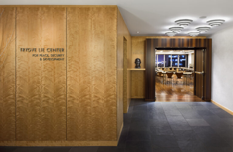 Peace Institute Offices, Location: New York NY, Architect: Mancini Duffy