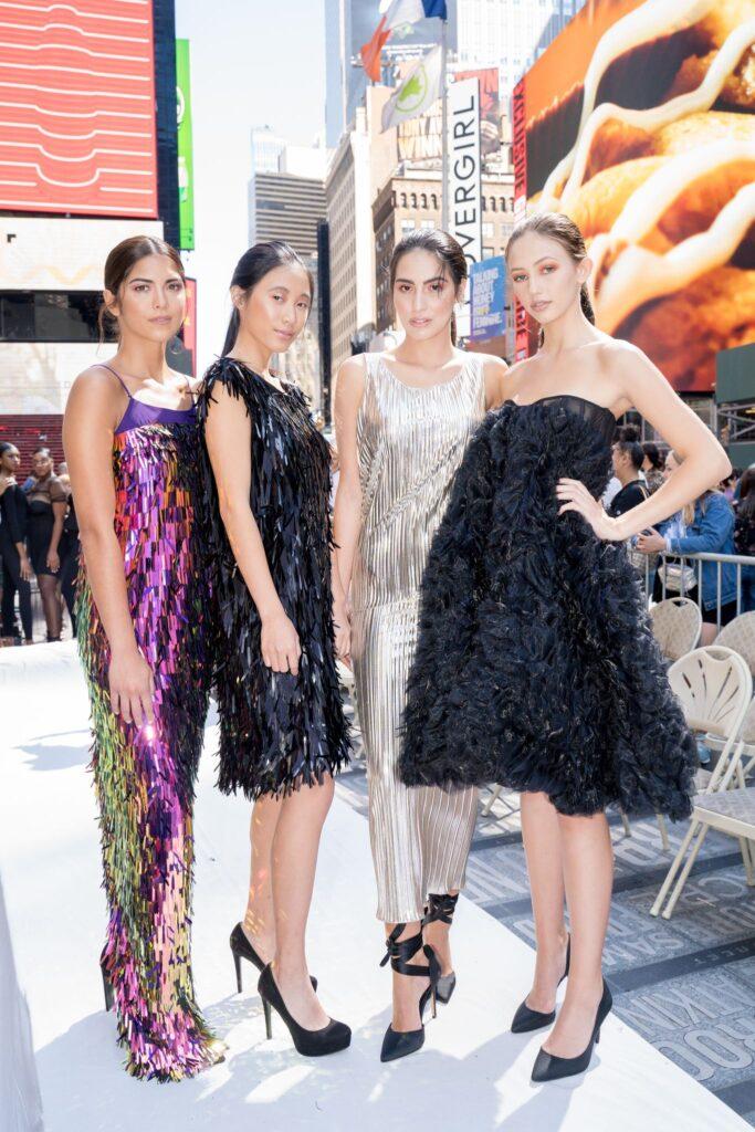 Times Square Fashion Week 2020 Models