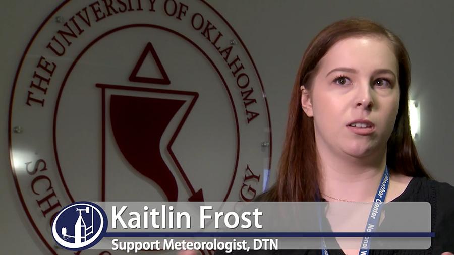 Meteorologist Kaitlin Frost