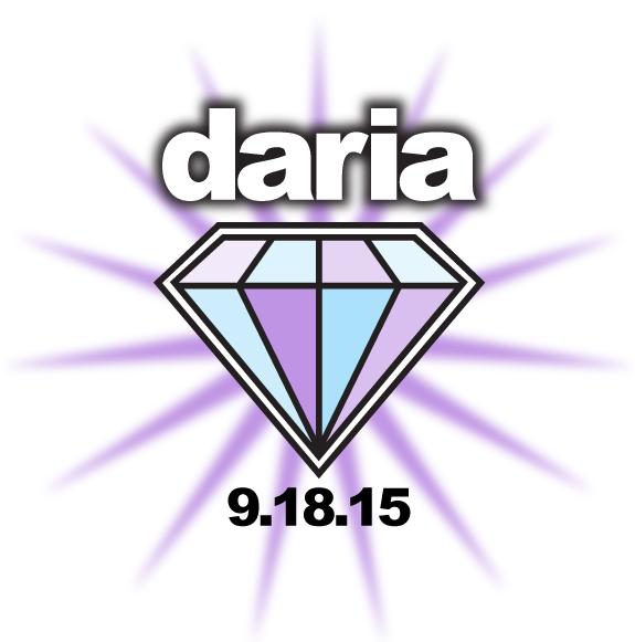 Daria's Bat Mitzvah Logo
