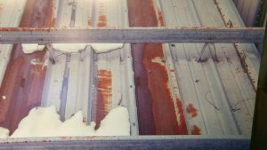 rust affecting the roofing structureroofing system, roof maintenance, commercial roof maintenance