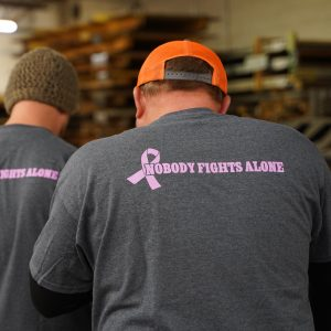 Breast Cancer Awareness in Commercial roofing and commercial Sheet Metalkansas city