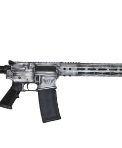 Advanced Combat AR-15 White Battle worn Cerakote
