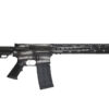 Advanced Combat AR-15 Black and Silver American Flag Cerakote