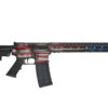Advanced Combat AR-15 American Flag Cerakote