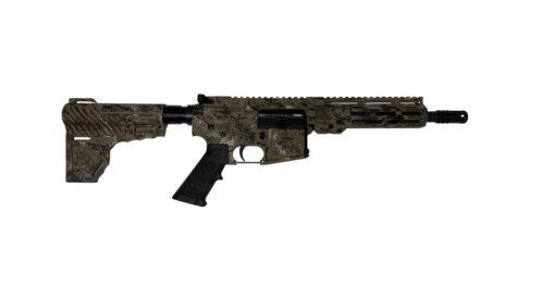Advanced Combat AR-15 Pistol Cerakote Cammo