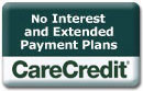 No Interest And Extended Payments Plans CareCredit Logo