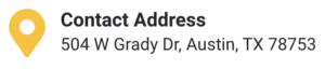 Address 504 w grady dr, austin texas 78753