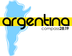 Logo for Compass 28:19 Short term missions trip to  Argentina