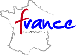 Logo for Compass 28:19 Short term missions trip to  France